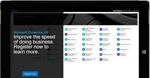 Запуск новой Microsoft Dynamics AX