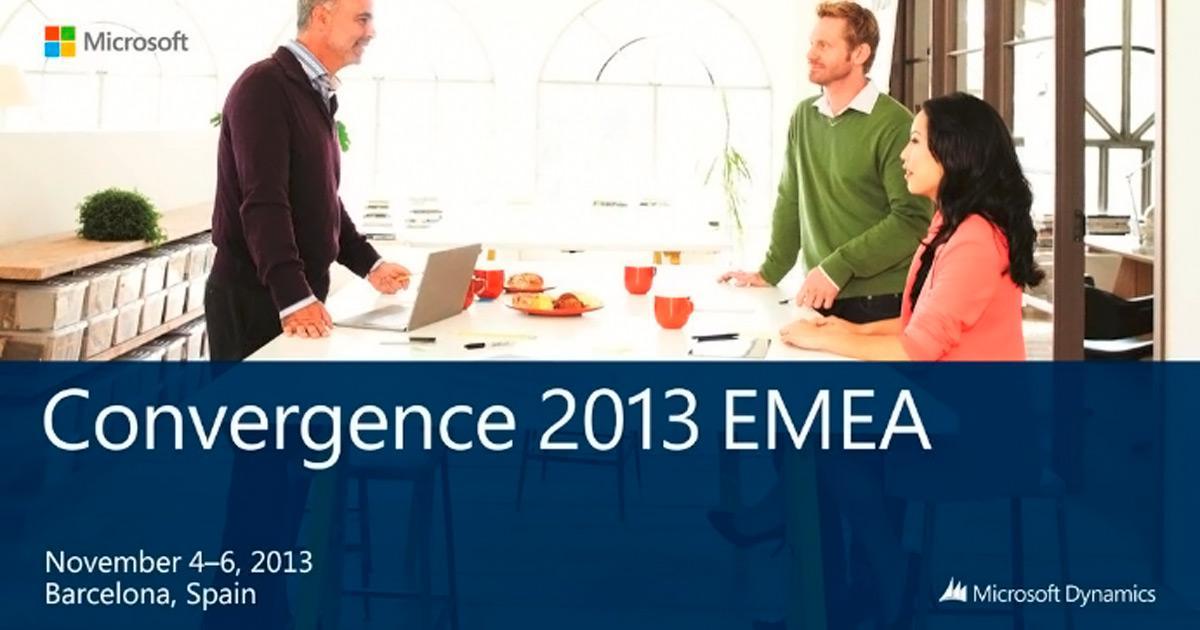 Microsoft Convergence EMEA