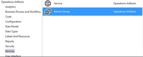 Нажать правой кнопкой на выпадающий список References и выбрать Add Service Reference....