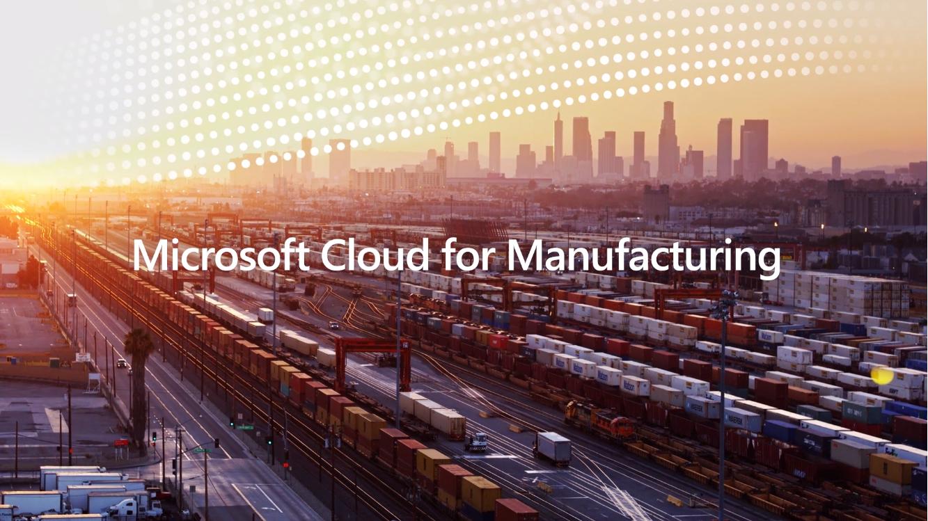 Microsoft cloud для производства