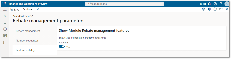 2-04 Rebate management module parameters. Price details activation